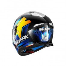 Шлем Shark Skwal 2 Replica Oliveira KBY Black Blue Yellow