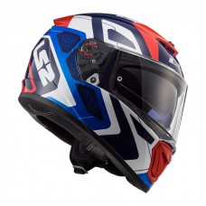 Шлем LS2 FF390 Breaker Android Blue Red