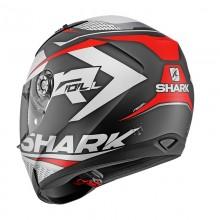 Шлем Shark Ridill 1.2 Stratom Mat Black White Red
