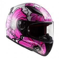 Шлем LS2 FF353 Rapid Poppies Pink