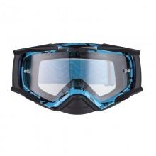 Очки кросс-эндуро IMX DUST graphic blue/black matt (2 линзы)