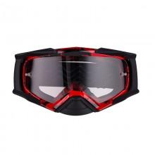 Очки кросс-эндуро IMX DUST graphic red/black matt (2 линзы)