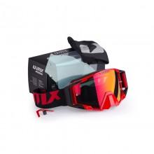 Очки кросс-эндуро IMX SAND red/black matt (2 линзы)