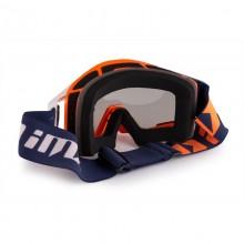 Очки кросс-эндуро IMX SAND orange/white/blue (2 линзы)