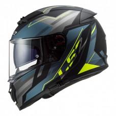 Шлем LS2 FF390 Breaker Beta Matt Cobalt H-V Yellow