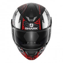Шлем Shark Skwal 2 Noxxys Matt Black Red Silver