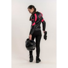 Куртка кожаная женская Rebelhorn Rebel Lady Black/Pink