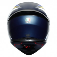 Шлем AGV K1 Power Matt Dark Blue Orange White
