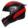 Шлем AGV K1 Warmup Matt Black Red
