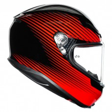 Шлем AGV K6 Rush Black Red