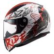 Шлем LS2 FF353 Rapid Naughty White Red