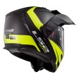 Шлем LS2 FF324 Metro Evo P/J Rapid Matt Black H-V Yellow