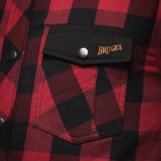 Рубашка Broger Alaska Red Black
