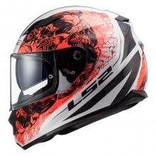 Шлем LS2 FF320 Stream Evo Throne White Orange