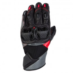 Перчатки Rebelhorn Flux II Black Grey Flo Red