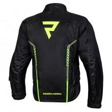 Куртка дождевая Rebelhorn Patrol Black Flo Yellow