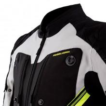 Куртка Rebelhorn Borg Black Gray Flo Yellow
