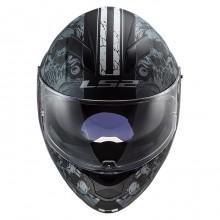 Шлем LS2 FF320 Stream Evo Throne Matt Black Titanium