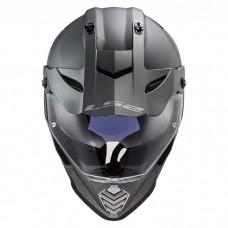 Шлем LS2 MX436 Pioneer Evo Solid Matt Titanium