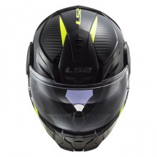 Шлем LS2 FF902 Scope Skid Black H-V Yellow