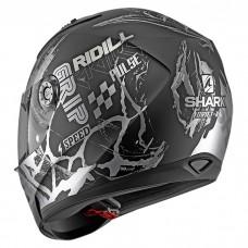 Шлем Shark Ridill 1.2 Drift-R Mat Black Anthracite Silver
