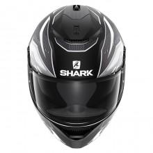 Шлем Shark Spartan Antheon Matt Black White Black
