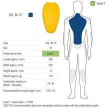Протектор спины SAS-TEC LEVEL 1 размер M