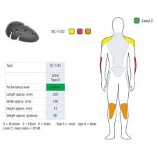 Протектор локтей/плечей/колен SAS-TEC Level 2 (2шт) SC-1/42