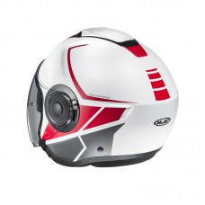 Шлем HJC I40 CAMET Red/White MC1SF