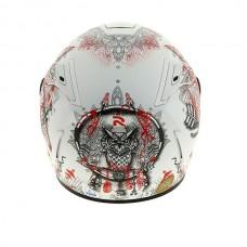 Шлем HJC RPHA 70 HANOKE White/Red MC1SF
