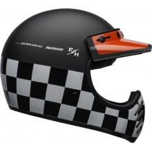 Шлем BELL MOTO-3 FASTHOUSE CHECKERS BLACK/WHITE/RED