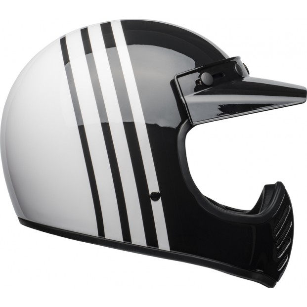 Шлем BELL MOTO-3 REVERB WHITE/BLACK