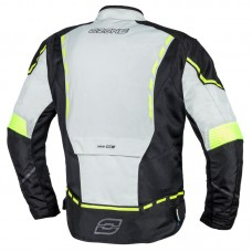 Куртка тестильная OZONE JET II ICE/BLACK/FLUO YELLOW