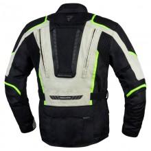 Куртка тестильная REBELHORN HIKER III BLACK/GREY/FLO YELLOW