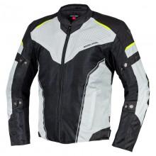 Куртка тестильная REBELHORN HIFLOW IV BLACK/SILVER/FLO YELLOW