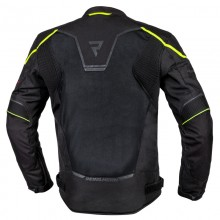 Куртка тестильная REBELHORN HIFLOW IV BLACK/FLO YELLOW