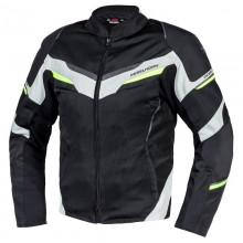 Куртка тестильная REBELHORN FLUX BLACK/ICE/FLO YELLOW