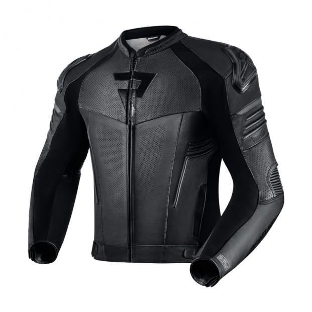 Куртка кожаная REBELHORN VANDAL BLACK