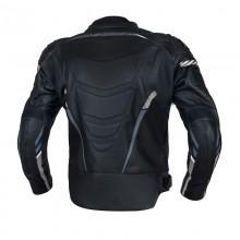 Куртка кожаная OZONE RS600 BLACK/WHITE