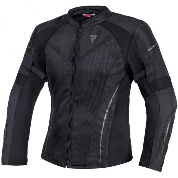 Куртка тестильная REBELHORN FLUX LADY BLACK