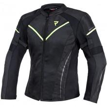 Куртка тестильная REBELHORN FLUX LADY BLACK/FLO YELLOW