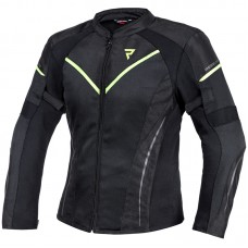 Куртка тестильная REBELHORN FLUX LADY BLACK/FLO YELLOW
