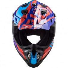 Шлем LS2 MX700 SUBVERTER EVO GAMMAX RED BLUE