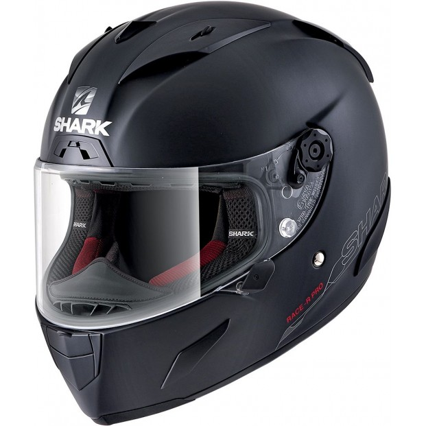 Шлем SHARK RACE-R PRO BLANK Mat Black