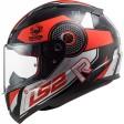 Шлем LS2 FF353 RAPID STRATUS BLACK RED SILVER