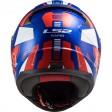 Шлем LS2 FF353 RAPID STRATUS BLUE RED WHITE