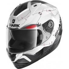 Шлем SHARK RIDILL 1.2 MECCA White Black Red