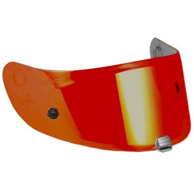 HJ26 Визор зеркальный красный