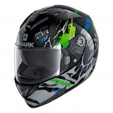 Шлем SHARK RIDILL 1.2 DRIFT-R Black Green Blue