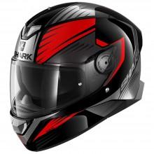 Шлем SHARK SKWAL 2 HALLDER Black Red Anthracite